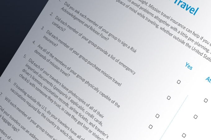 Mission Trips: More Than 'Just Do It' Situations