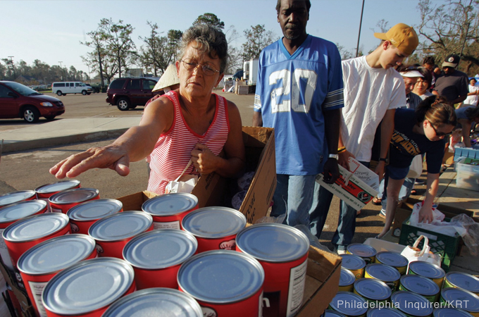 Housing Disaster Victims
